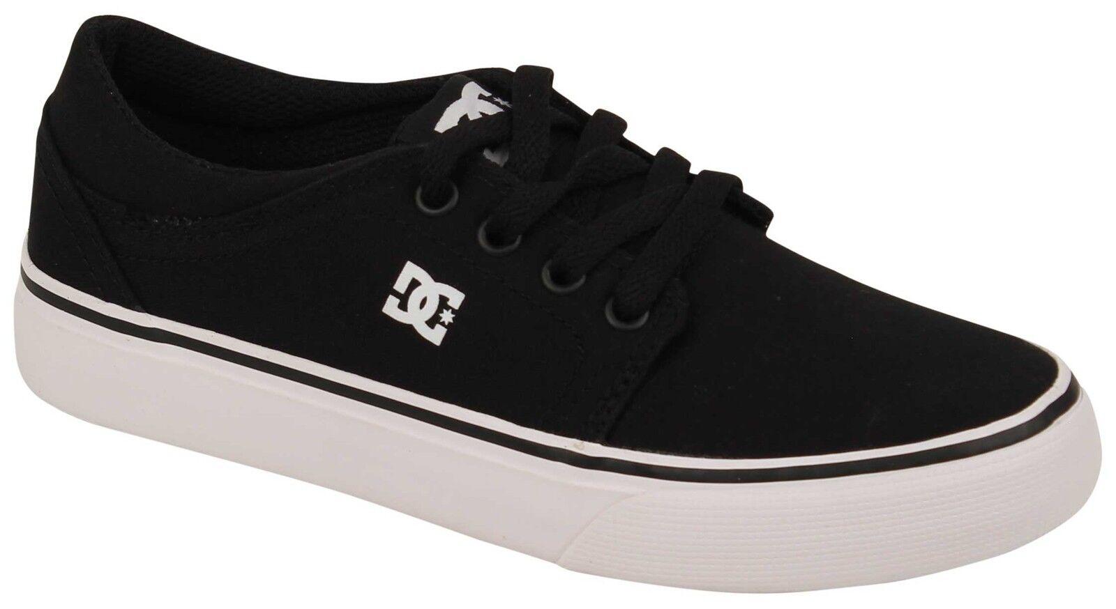 DC Kid's Trase TX Shoe - Black / White