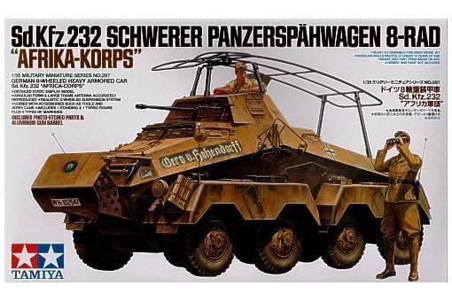 Tamiya 1 35 scale WW2 German Sd.Kfz.232 Africa Korps DAK model kit