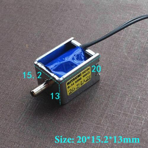 Mitsumi DC 6V Mini Válvula Solenoide Eléctrico normalmente abierto Monitor de presión arterial