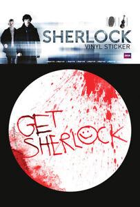 Get Sherlock Rational Sherlock Sticker Aufkleber Größe Ø9 Cm Clear-Cut-Textur