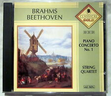 CD (s) - BRAHMS / BEETHOVEN - Piano Concerto No. 1 / String Quartet