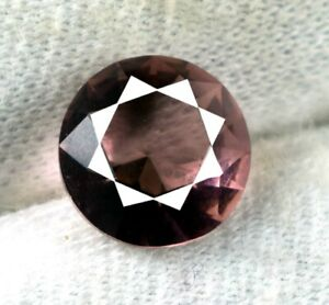 New Year's Gift Pink Sapphire Gemstone 2.20 Ct Natural Round Cut Certified DG46