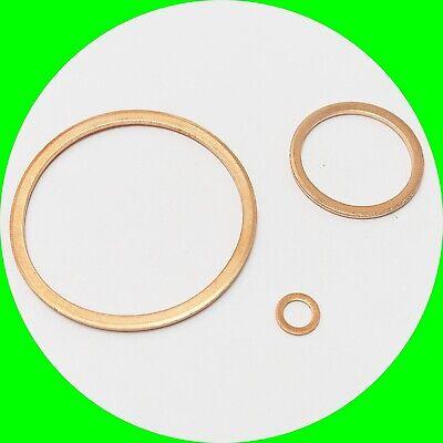 100 Kupfer Dichtringe DIN 7603 Form A 10x13,5x1