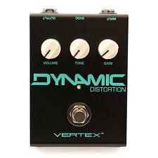 Vertex Dynamic Distortion True Bypass Overdrive Guitar Effects Pedal Stompbox