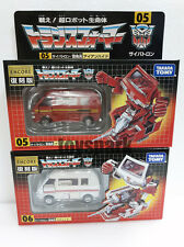 TAKARA TOMY Transformers ENCORE 05 IRONHIDE+06 RATCHET G1 action figure #optimus