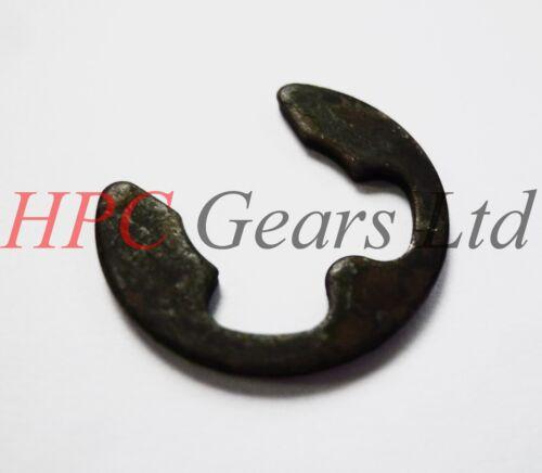 20 x 1.9mm External E Clips Steel Clip Circlip DIN6799 Pack HPC Gears