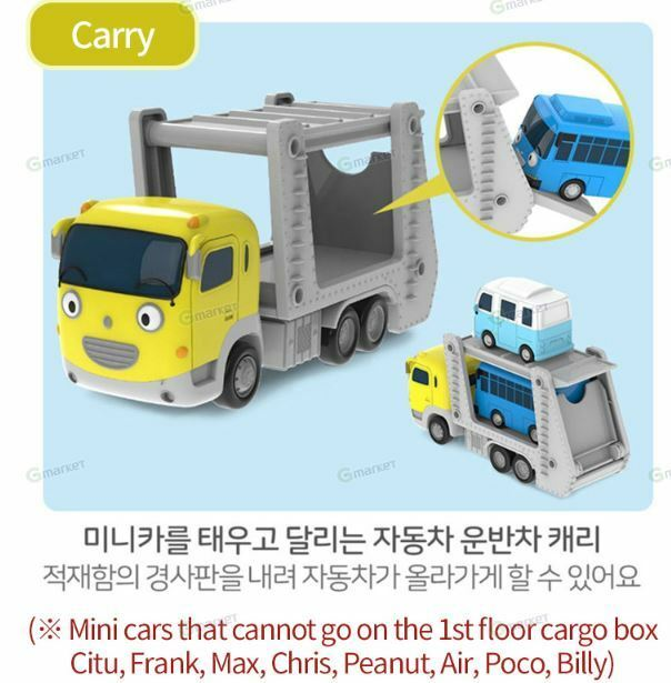 The Little Bus TAYO Friends Mini Mini Mini Set 6 pcs Toys Pat Frank Nuri Alice Toto Citu dffb81