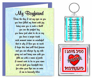 Image Is Loading Boyfriend Verse Gift Set Card Keyring Amp Magnet