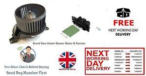 New-Interior-Heater-Fan-Motor-amp-Resistor-For-Vauxhall-Combo-D-Van-2012-gt-gt-gt-ASK