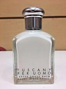 Detalles de Tuscany UOMO por Aramis hombres después de Per Afeitado Bálsamo 3.4 OZ (approx. 96.39 g) Unbox Clásico Original ver título original