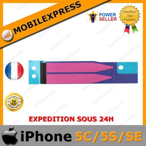 Autocollant sticker Double Face de Batterie ORIGINAL pour iPhone 5C / 5S / SE   eBay