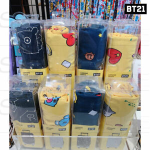 BTS-BT21-Official-Authentic-Goods-Luggage-Cover-24in-or-28in-By-Monopoly-Track