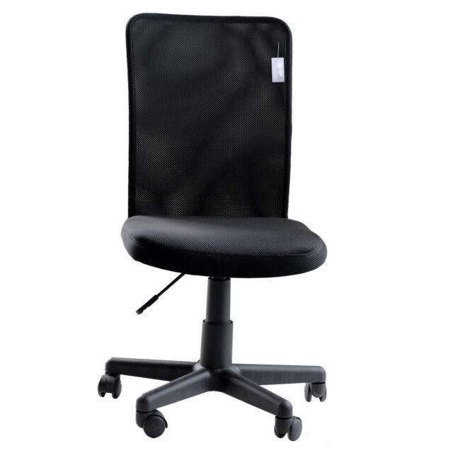 Merveilleux IDS Modern Ergonomic Mesh Medium Back Armless Computer Desk Task Office  Chair