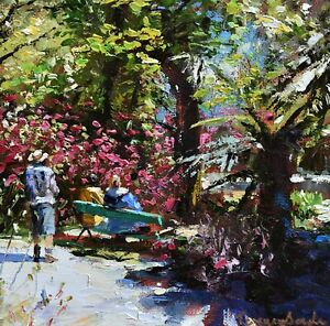 Jeremy-Sanders-Original-Oil-Painting-Trengwainton-Garden-Cornwall-Cornish-Art