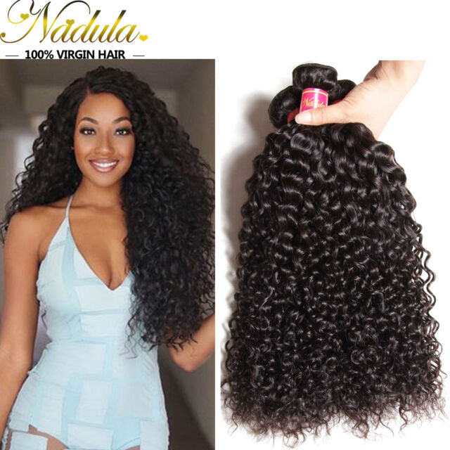 Nadula 3 Bundles 7amongolian Curly Hair Weave 100 Unprocessed Virgin
