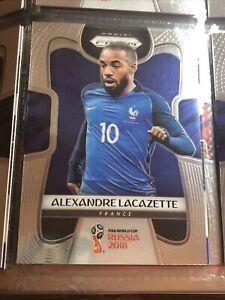 Alexander Lacazette Panini Prizm World Cup 2018 France Football Soccer Card
