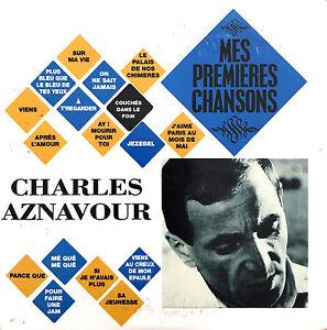 Charles-Aznavour-CD-Mes-Premieres-Chansons-France-VG-M