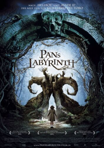 Pan/'s Labyrinth 2006 Movie Poster A0-A1-A2-A3-A4-A5-A6-MAXI 689