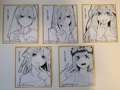 """/""""NEW/"""" Nino Nakano The Quintessential Quintuplets Character BookJAPAN Manga"""