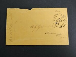 Confederate: Port Republic, Virginia 1862 (circa) Stampless Cover