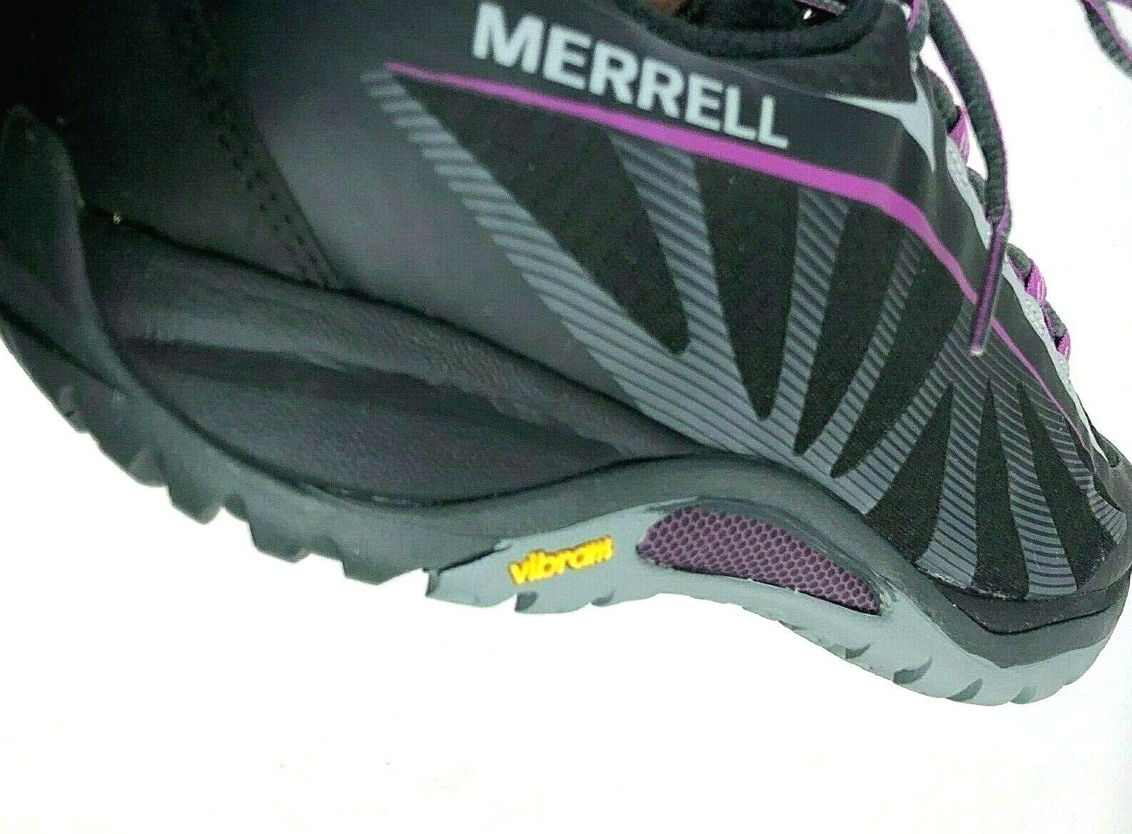 Womens Merrell shoes Size 11 Black Purple Siren Edge Sneaker J35750
