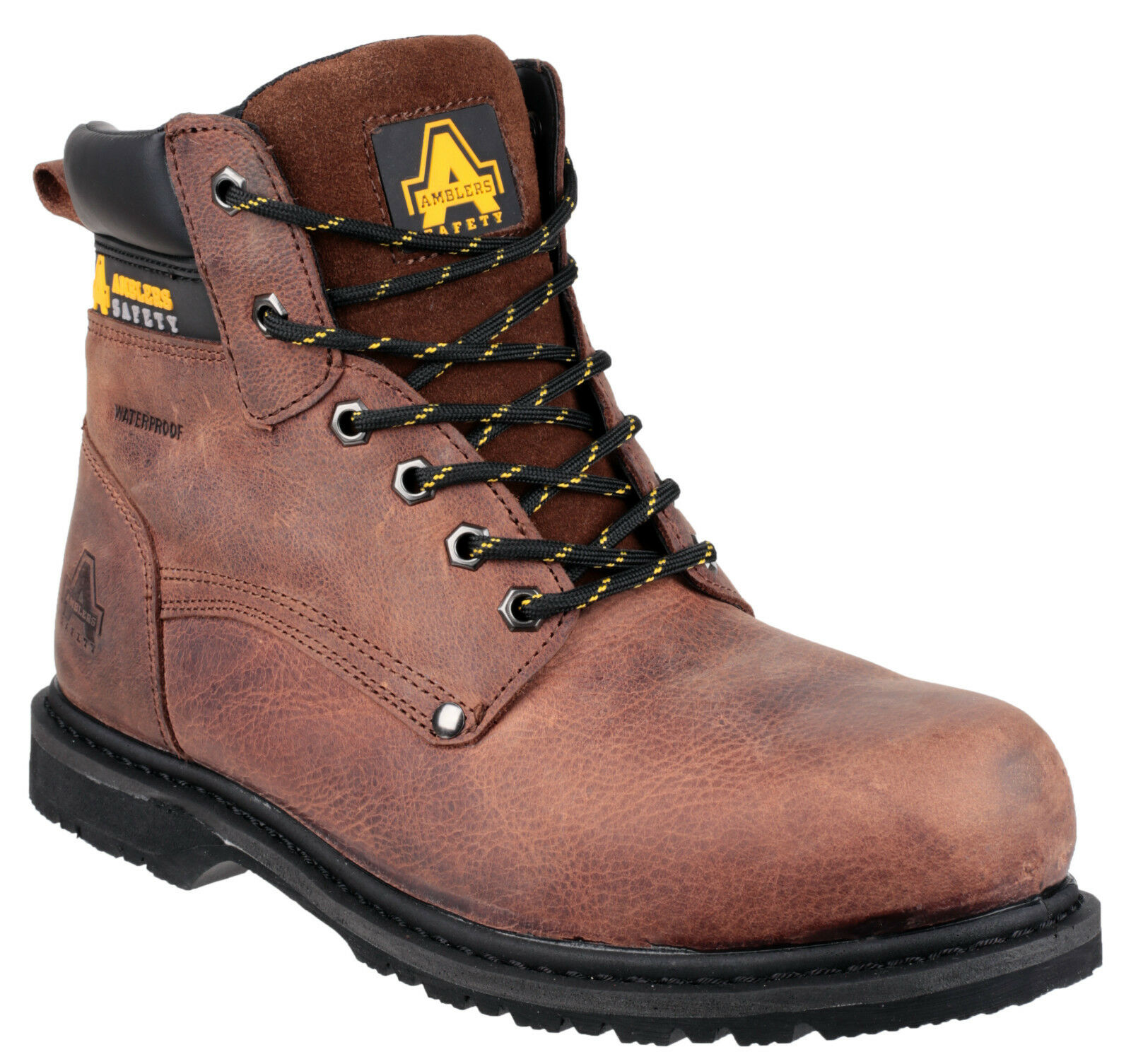 Amblers FS145 Safety Mens Waterproof Steel Toe Cap Industrial Work Stiefel UK6-13