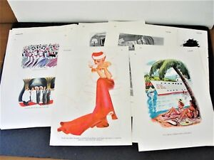 Set-of-35-Comic-Pages-from-1937-1939-and-1941-ESQUIRE-MAGAZINE-PUBLICATIONS