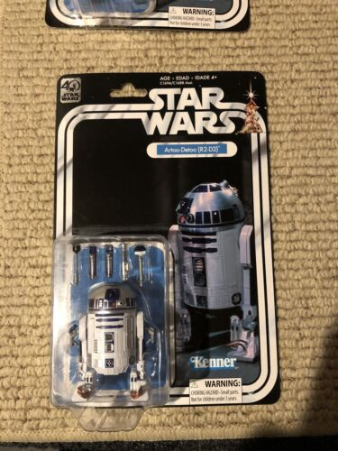 40th anniversary star wars R2D2 figure! Collectible Star Wars Figures