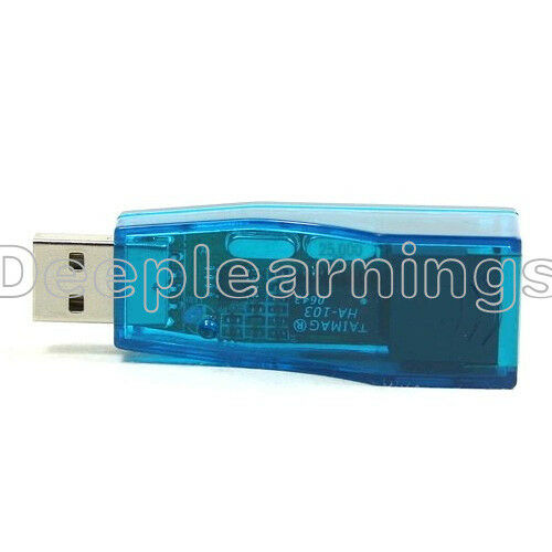USB 2.0 To LAN RJ45 Ethernet 10//100Mbps Network Card Adapter For PC