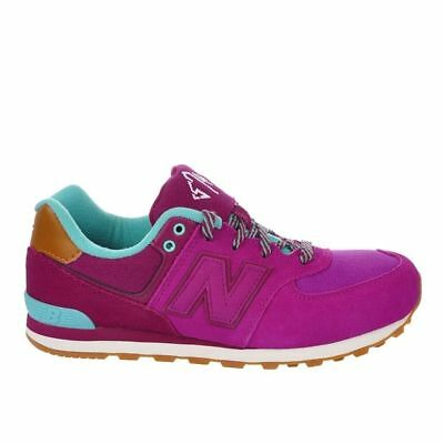reputable site 5d9d9 391ae NEW BALANCE NB 574 CLASSIC PINK RUNNING SHOE KL574NFG | eBay
