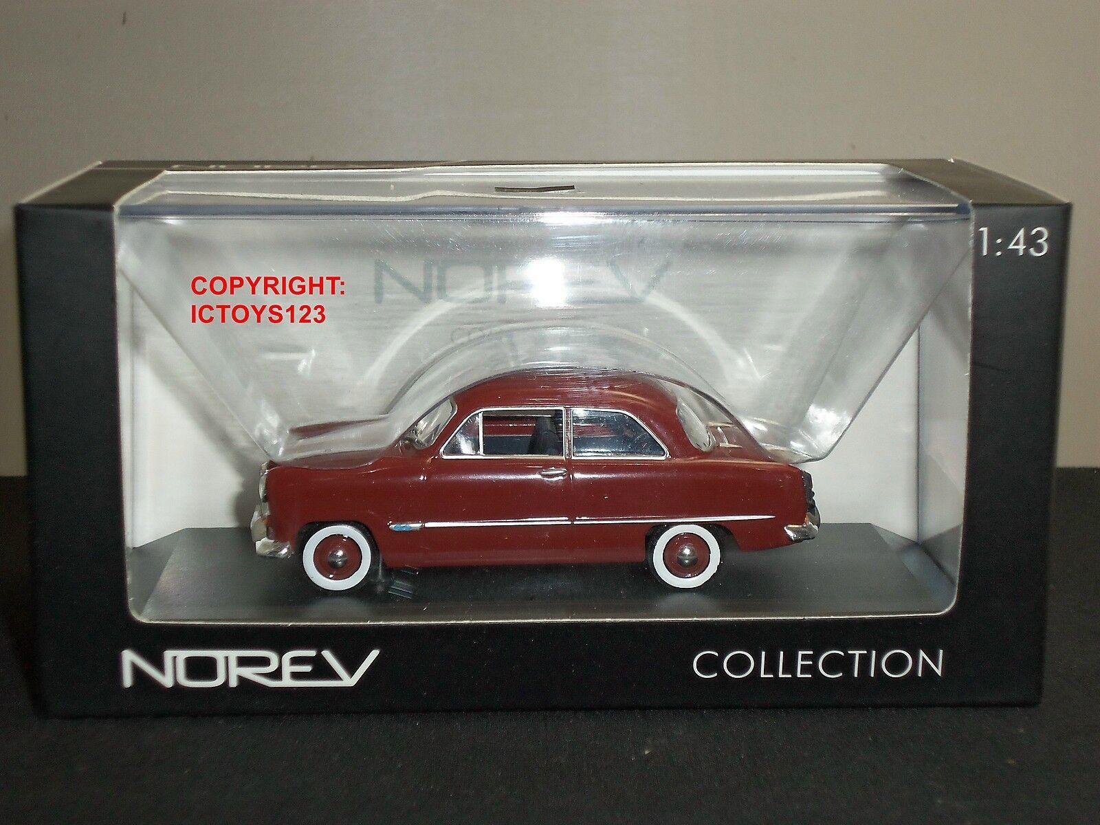 Norev Norev Norev 270533 Ford Taunus 12M Marrón Diecast Modelo Coche Clásico 8375f5