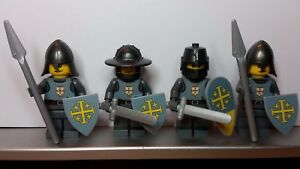 Lego-Custom-CASTLE-TEMPLAR-JERUSALEM-KNIGHTS-Minifigs-NEW-made-from-Stickers