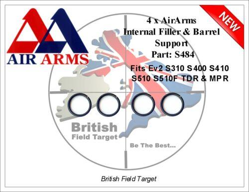 "4 X Aria Si Adatta Premium Seals /""S484/"" Ev2 Arms S310 S400 S410 S510 S510F TDR /& MPR"
