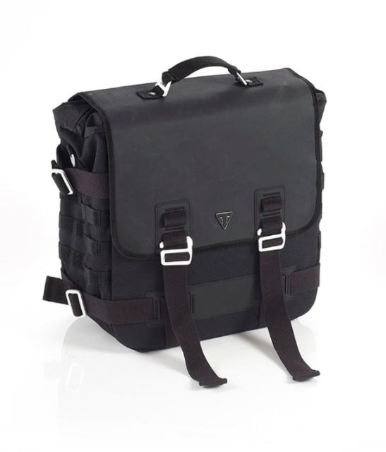 Backpack for Triumph Street Cup//Scrambler RG9 25L dark grey