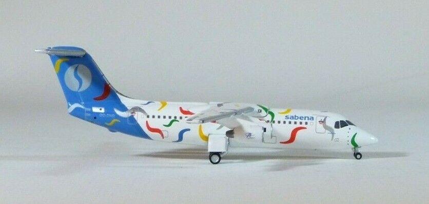 1 400 Jet-X Sabena RJ-100   75th Anniversary   branché