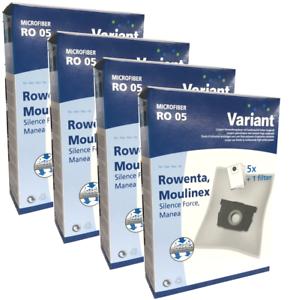 20 Staubsaugerbeutel Variant geeignet für Rowenta RO 4200-4299 Artec 2