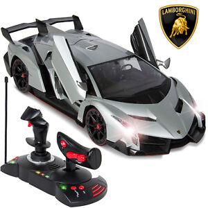Bcp 1 14 Kids Remote Control Lamborghini Veneno Rc Toy W Gravity