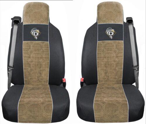 XF 105 Passform Schonbezüge Autositzbezüge Schwarz Beige LF DAF XF 95 CF