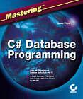 Mastering C# Database Programming by Jason Price (Paperback, 2003)