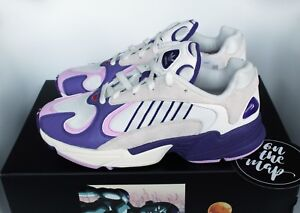 new arrivals 7c036 08eaa Image is loading Adidas-Dragonball-Z-Yung-1-Frieza-Purple-White-