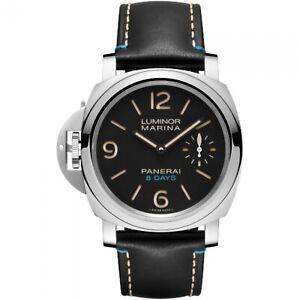 New-Panerai-Luminor-Left-Handed-8-Days-Stainless-Steel-44-mm-Watch-PAM00796
