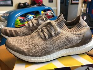 2235c754942c Adidas Ultra Boost Uncaged Clear Brown Beige Tan BB4488 Men s 10.5 ...