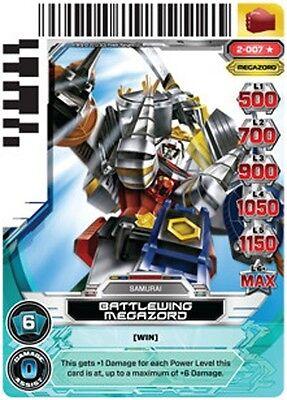 Titan Megazord 099 POWER RANGERS CARD GUARDIANS OF JUSTICE