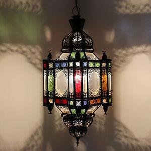 Image Is Loading Oriental Lantern Moroccan Lamp Glass Lantern Hanging Light