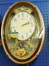 """RHYTHM"" MUSICAL WALL CLOCK  NEW - ""ENCHANTMENT"" 4MH830WD23"