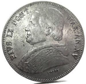 Roma (stato Pontificio) Pio Ix-20 Baiocchi 1860