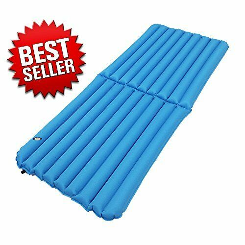 Premium Light weight Inflatable Air Beds 29 W, Comfortable Folding Camping Bed