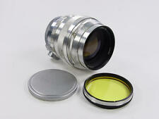 1962 made !! Early silver Helios 40 1.5/85mm M42 M39. s/n 624720