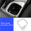 Interior Cup holder Cover Trim Frame Accessories For Toyota RAV4 2016-2018