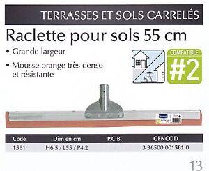 2019 DernièRe Conception Starwax Raclette Pour Sols 55 Cm Ref 1581